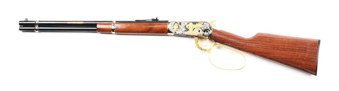 (M) Roy Rogers & Gabby Hayes Winchester Comm. Rifle. - 2