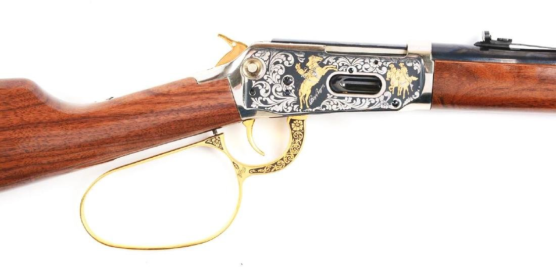 (M) Roy Rogers & Gabby Hayes Winchester Comm. Rifle. - 3