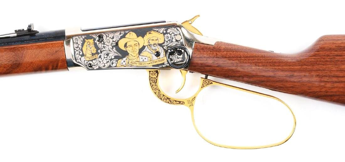 (M) Roy Rogers & Gabby Hayes Winchester Comm. Rifle. - 4