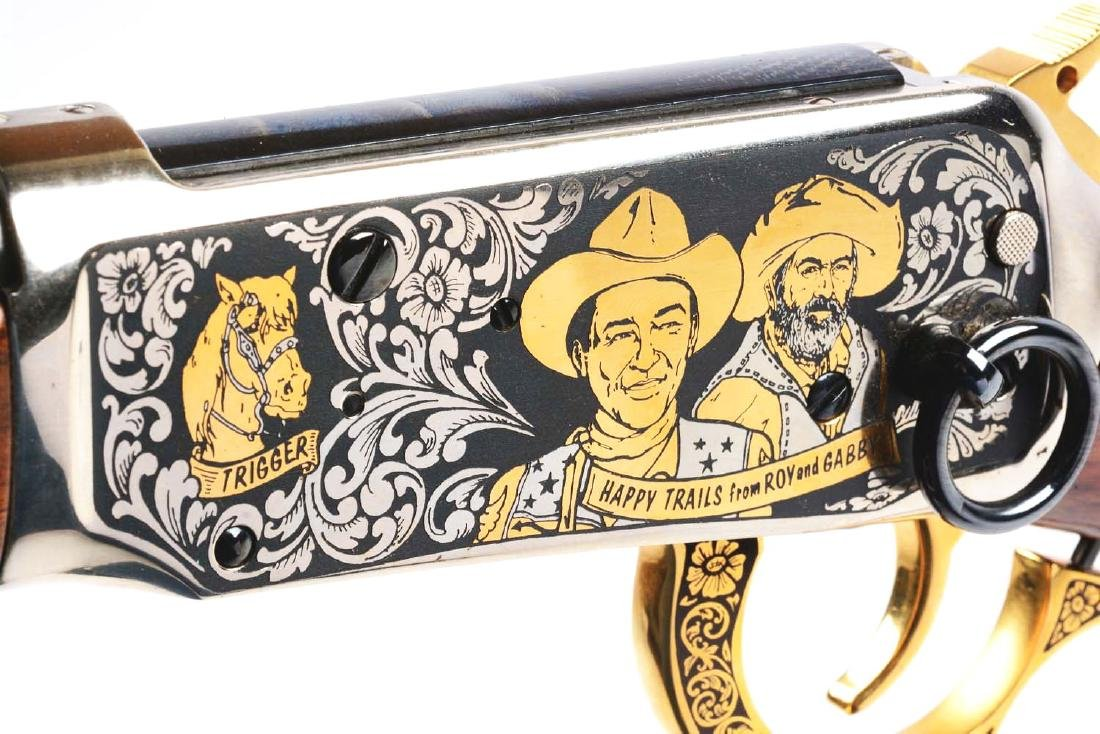 (M) Roy Rogers & Gabby Hayes Winchester Comm. Rifle. - 5