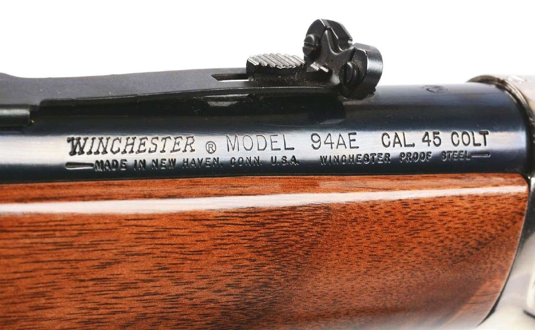 (M) Roy Rogers & Gabby Hayes Winchester Comm. Rifle. - 8