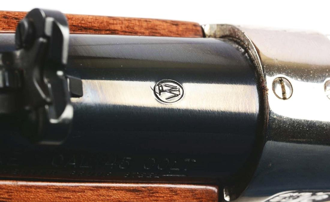 (M) Roy Rogers & Gabby Hayes Winchester Comm. Rifle. - 9