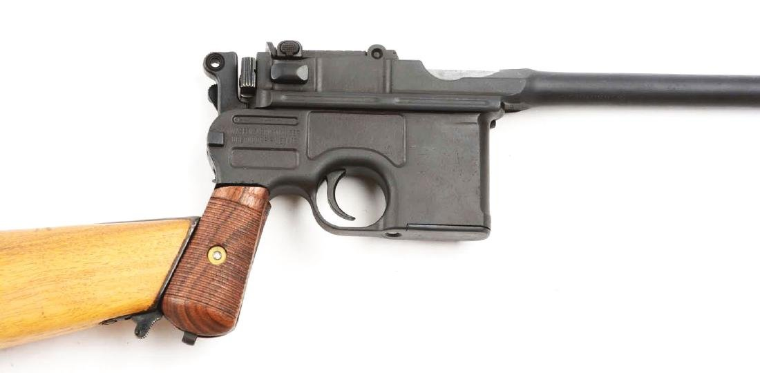 (C) Cased Custom Broomhandle Mauser Semi-Automatic - 3