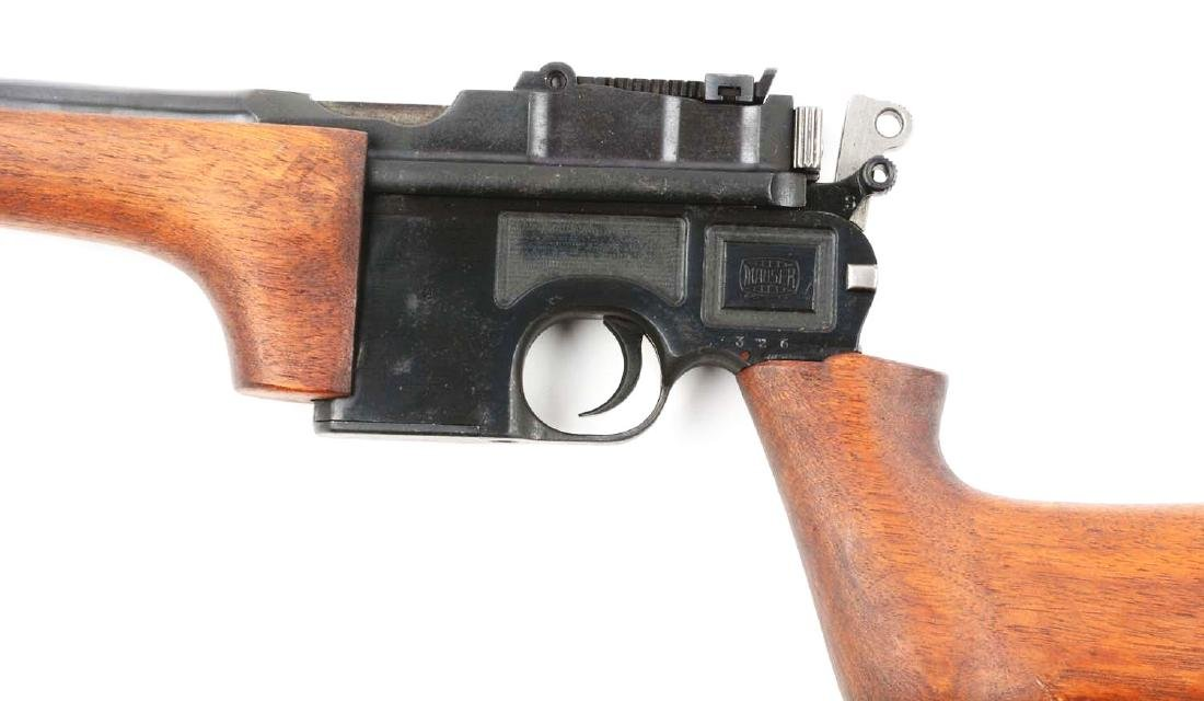 (C) Cased Custom Broomhandle Mauser Semi-Automatic - 4