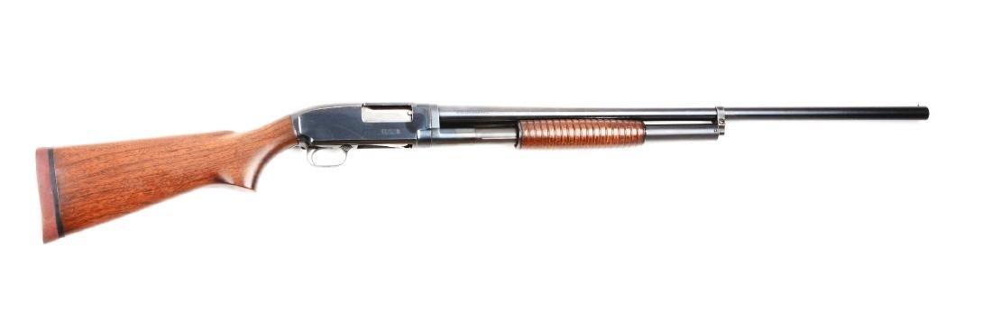 (C) U.S. Marked Winchester Model 12 Slide Action