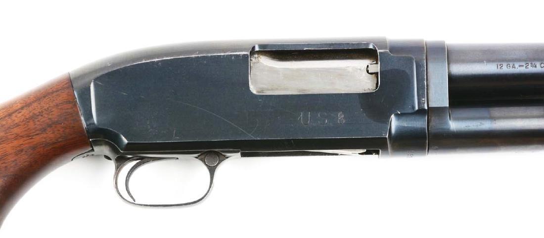 (C) U.S. Marked Winchester Model 12 Slide Action - 3