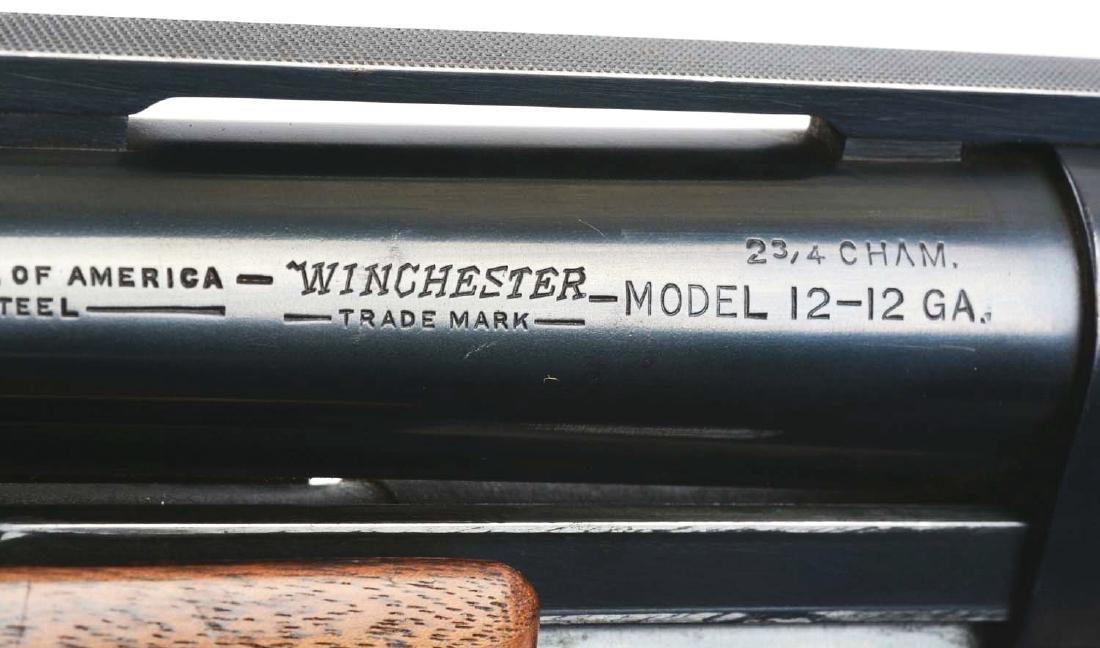 (C) Winchester Pre-64 Model 12 Skeet Grade Shotgun. - 5