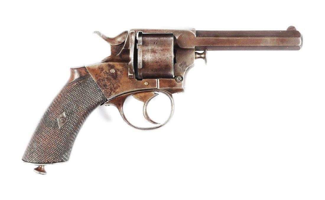 (A) Webley Pre-RIC Double Action Revolver.