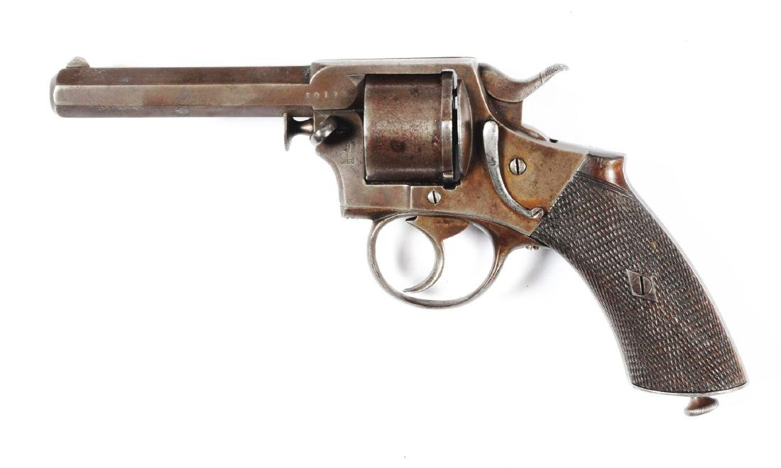 (A) Webley Pre-RIC Double Action Revolver. - 2