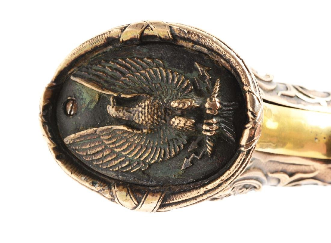 (A) Engraved Colt Model 1862 Pocket Conversion. - 10