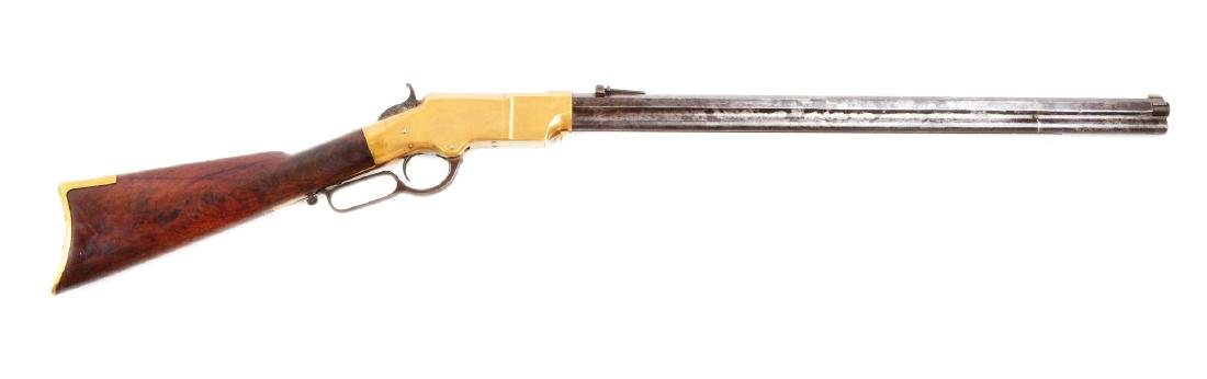 (A) Type I Martially Marked U.S. Henry Lever Action