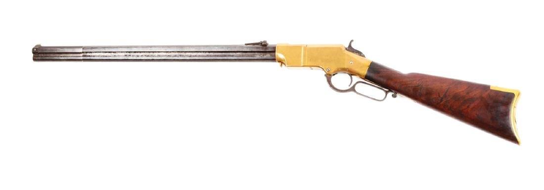 (A) Type I Martially Marked U.S. Henry Lever Action - 2