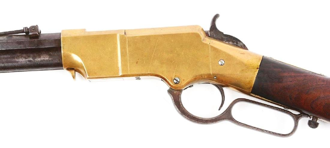 (A) Type I Martially Marked U.S. Henry Lever Action - 4