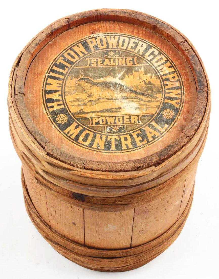 Rare 12 - 1/2 lb. Powder Keg for Sealing Powder. - 4