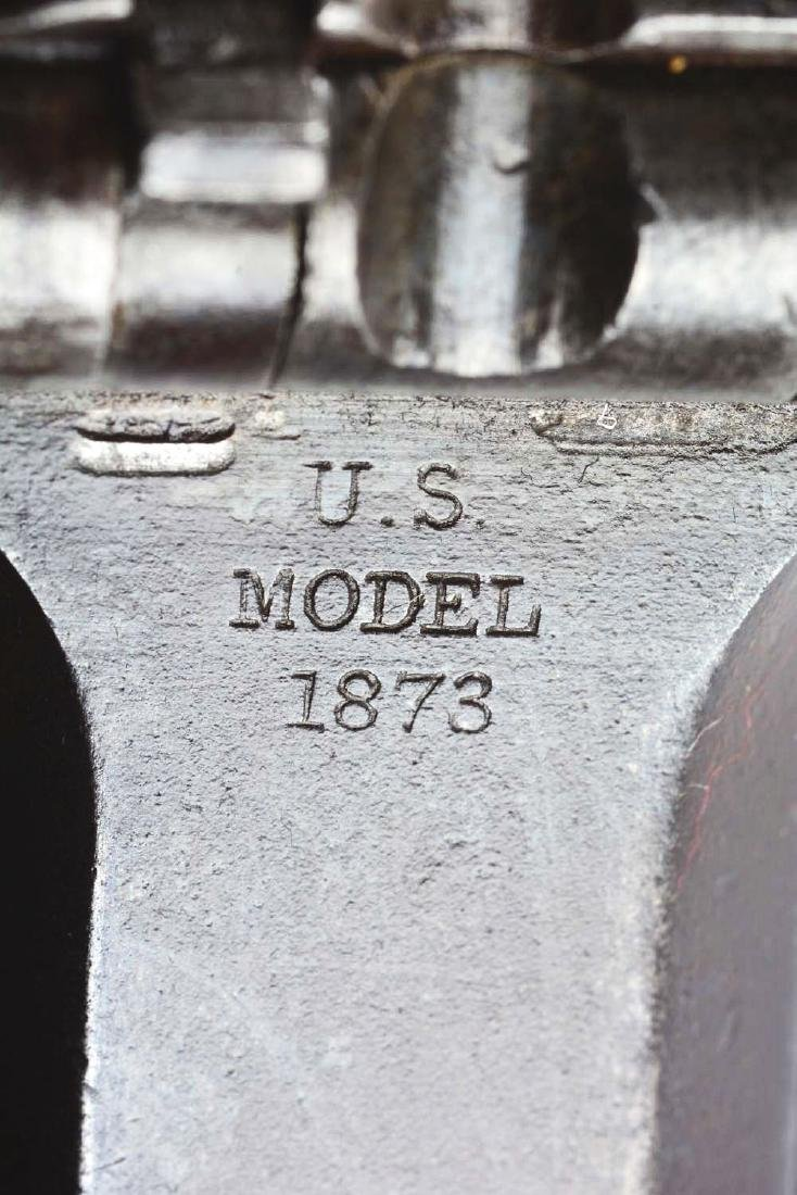(A) U.S. Springfield Model 1873 Trapdoor Carbine. - 10