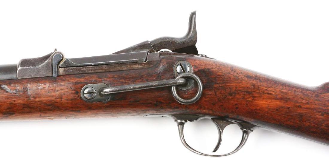 (A) U.S. Springfield Model 1873 Trapdoor Carbine. - 4