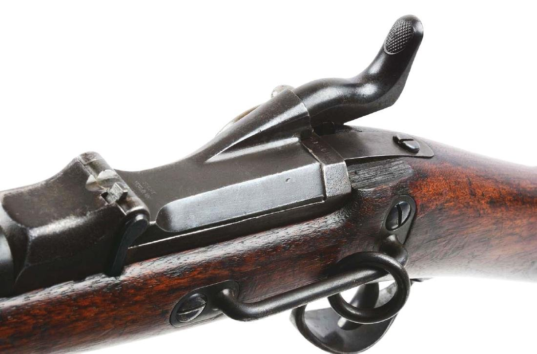(A) U.S. Springfield Model 1873 Trapdoor Carbine. - 8