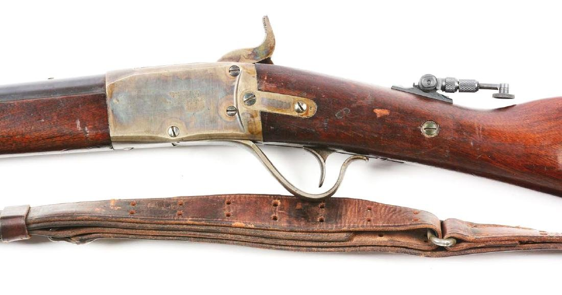 (A) Peabody Lever Action Military Style Rifle. - 4