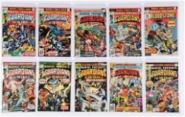 Lot Of 25 Marvel Features Marvel Premier  Marvel
