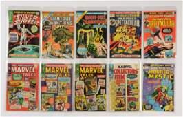 Lot of 19 Marvel Silver  Bronze Age Comic Books