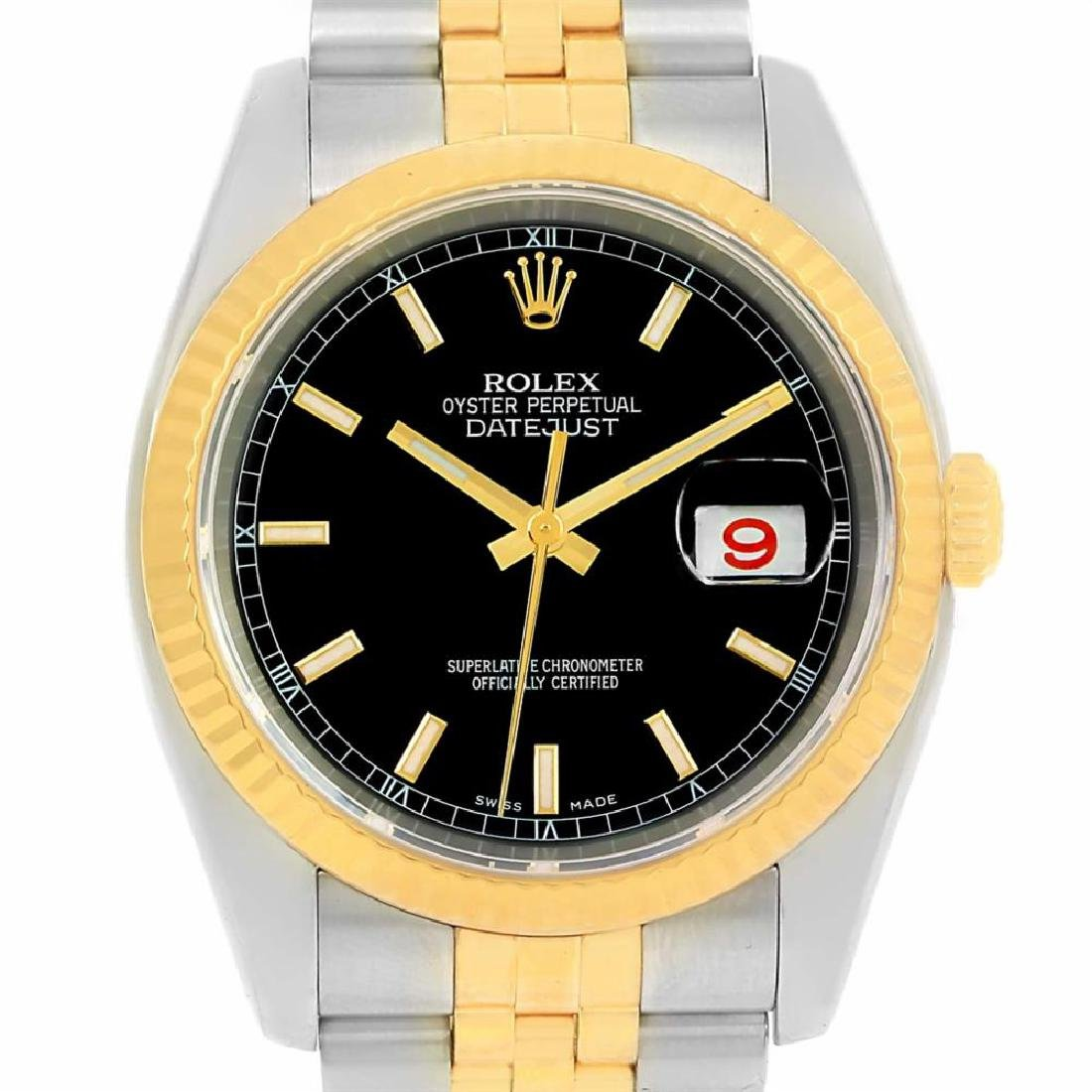 rolex stainless-steel datejust 116233
