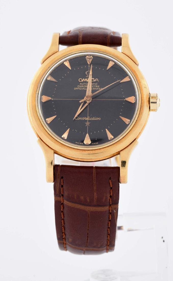 Omega Constellation in 18k Yellow Gold