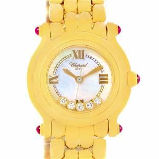 chopard yellow-gold happy sport 27/6150-21