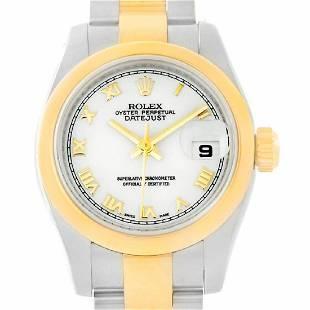 rolex yellow-gold datejust 179163