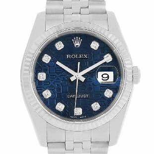 rolex stainless-steel datejust 116234