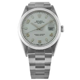 rolex stainless-steel oyster perpetual 15200