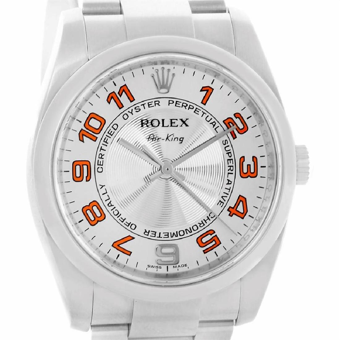 rolex stainless-steel air-king 114200
