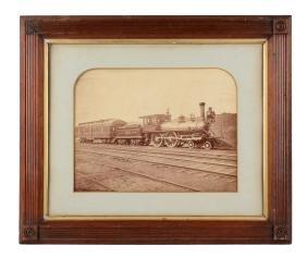 Lehigh Valley Railroad Oversized Photograph.