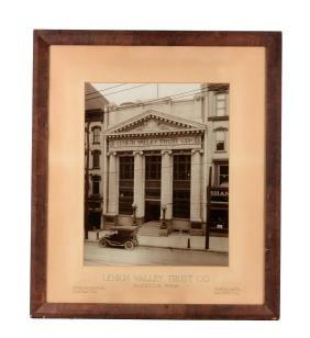 Lehigh Valley Trust Company Photo.