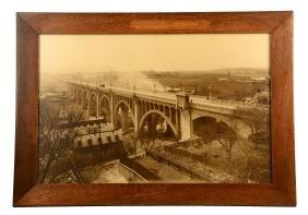 Oversized Bridge Photo In Allentown, Pa.