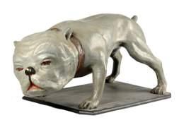 Mack Bulldog Paper Mache Display.