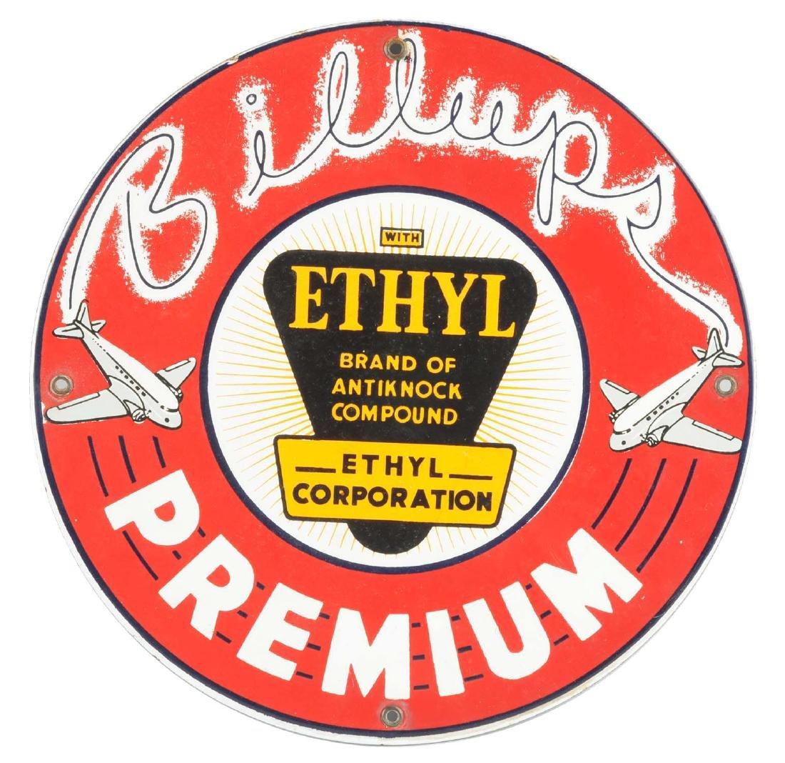 Original Billups Premium w/ Airplane Graphics Porcelain