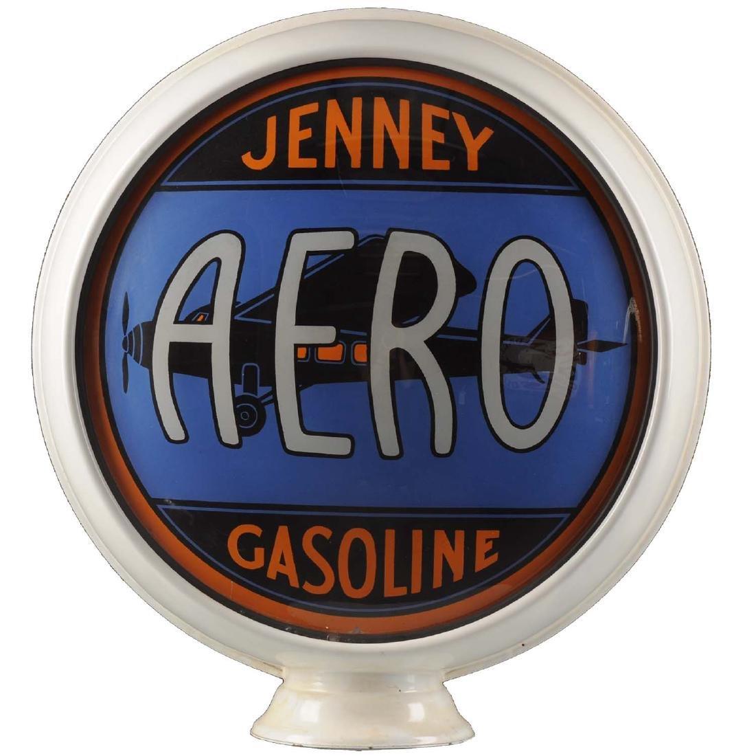 "Jenney Aero Gasoline 15"" Single Lens w/ Airplane"