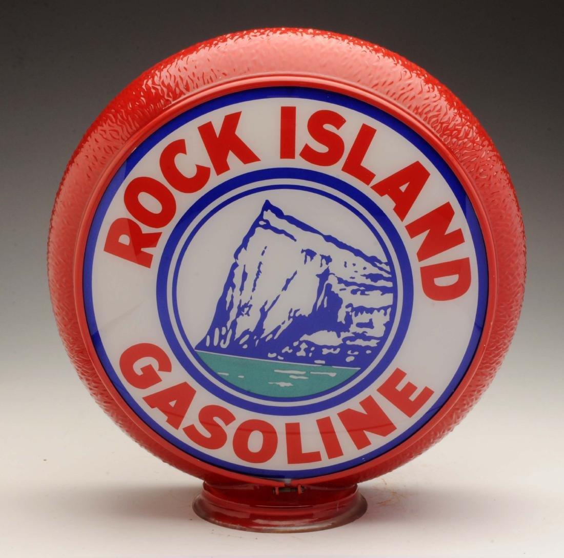 "Rock Island 13-1/2"" Single Lens on Original Ripple"