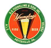 DG Yuengling  Son Tin Advertising Beer Sign