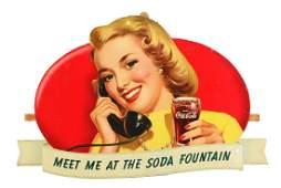 CocaCola Meet Me At The Soda Fountain Festoon