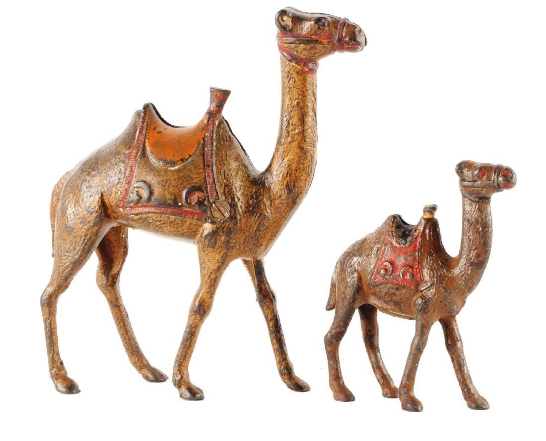 Lot of 2: Still Bank Camels.