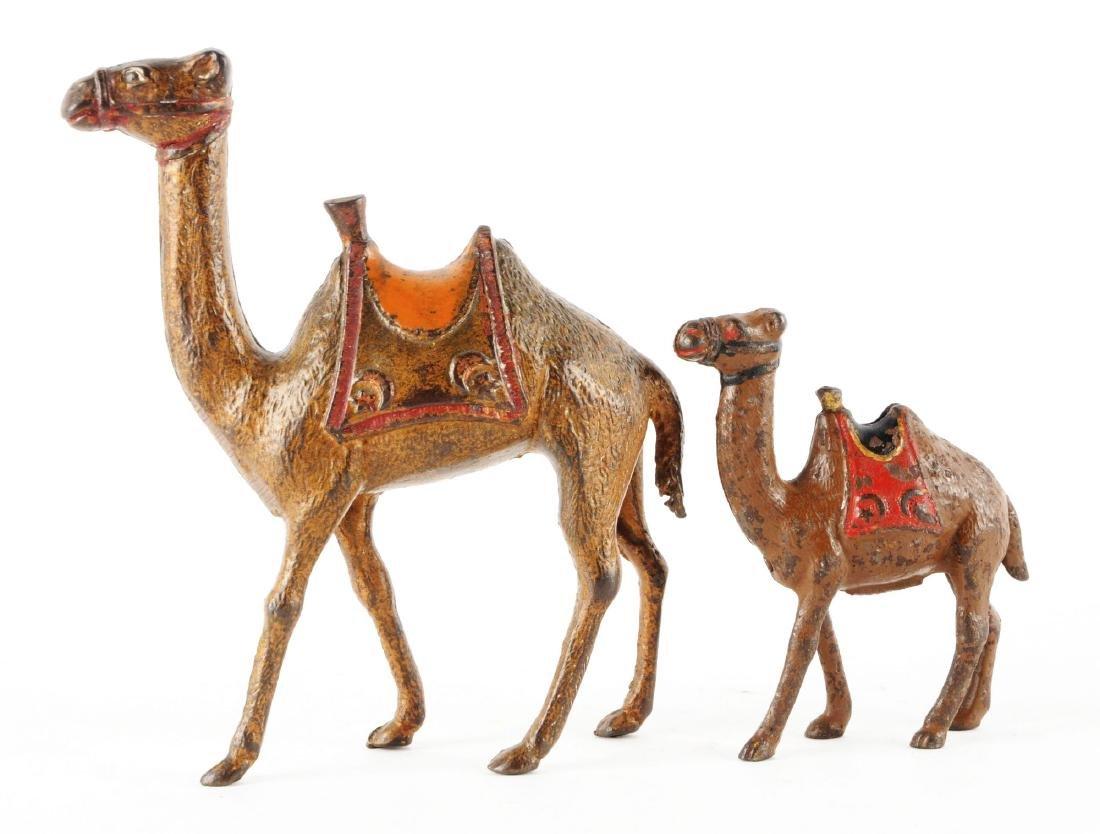 Lot of 2: Still Bank Camels. - 2