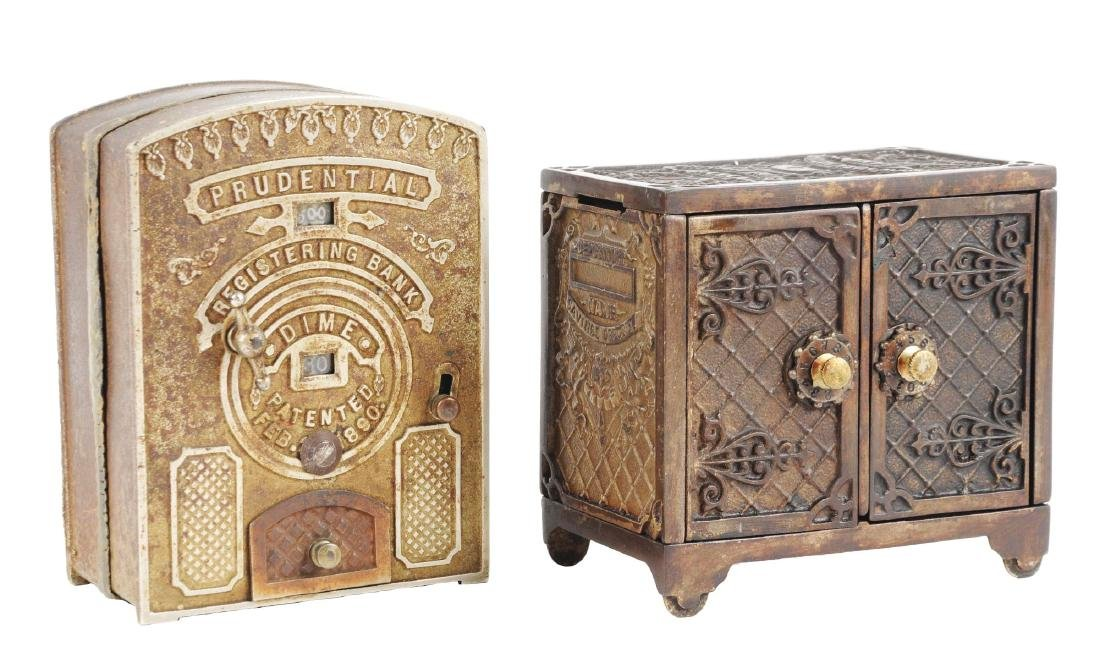 Lot of 2: Still Bank Safes.