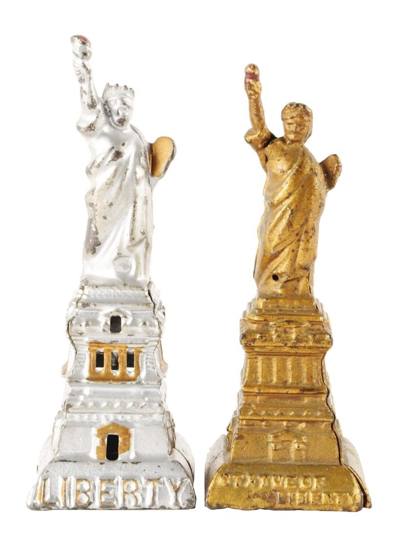 Lot of 2: Statue of Liberty Still Banks.