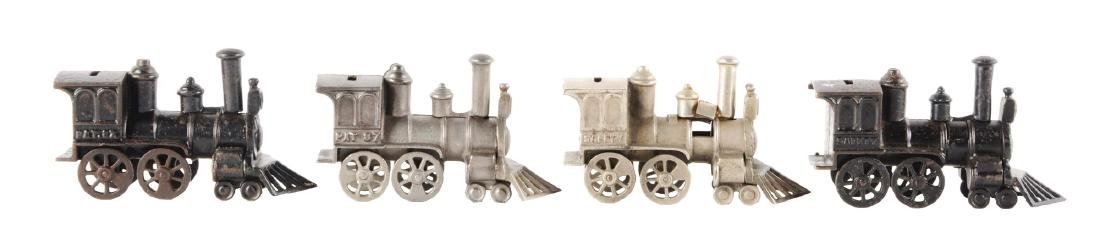 Lot of 4: Still Bank Trains.
