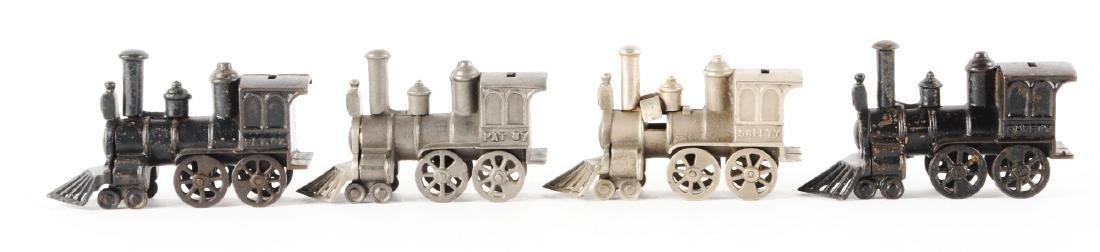 Lot of 4: Still Bank Trains. - 2
