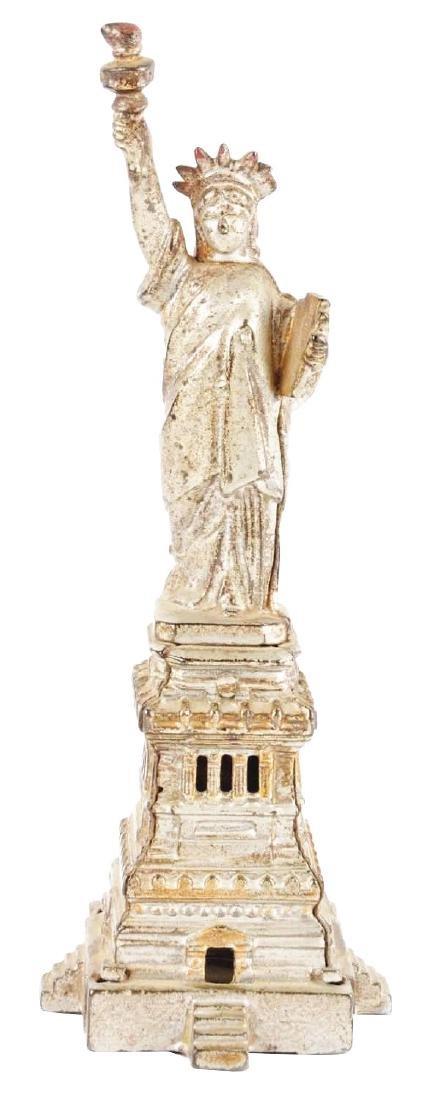Kenton Large Statue of Liberty Cast Iron Still Bank w/