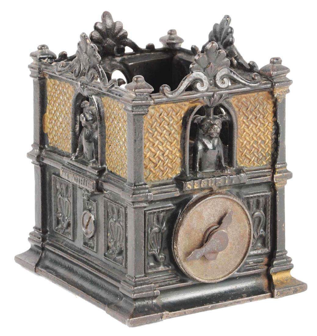 Fidelity Trust Vault Cast Iron Still Bank.