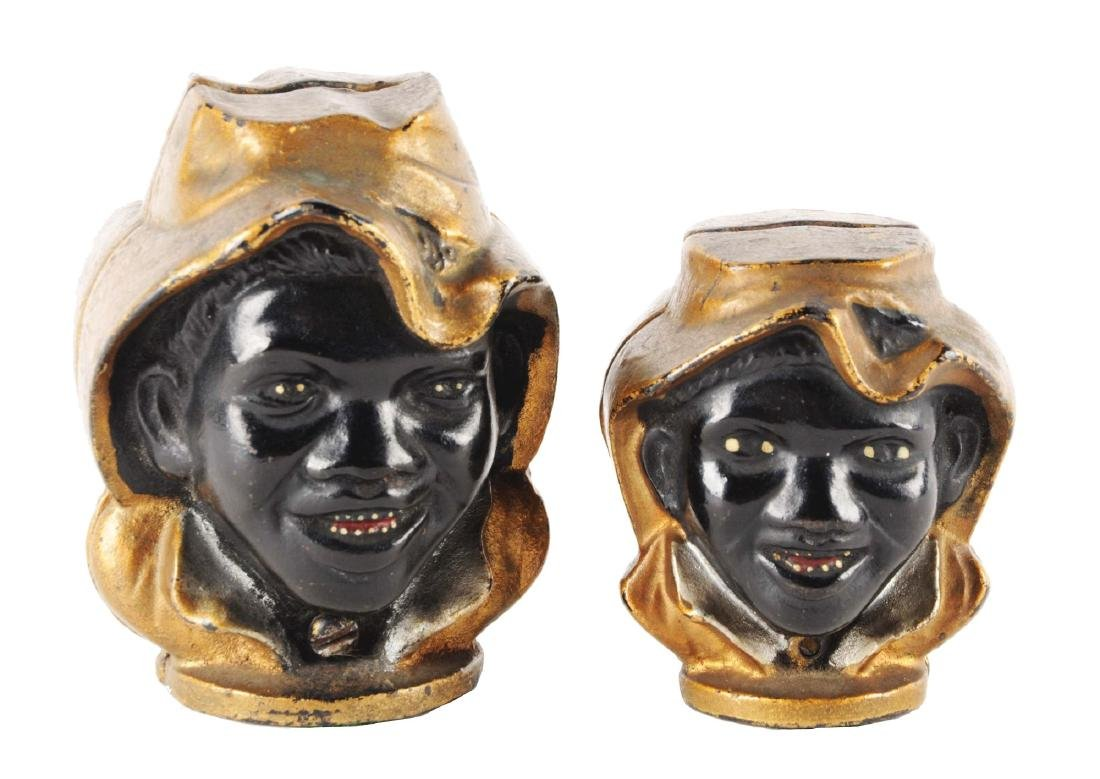 Lot of 2: Black Face Boy Still Banks.