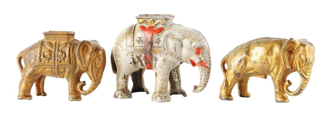 Lot of 3: Still Bank Elephants.
